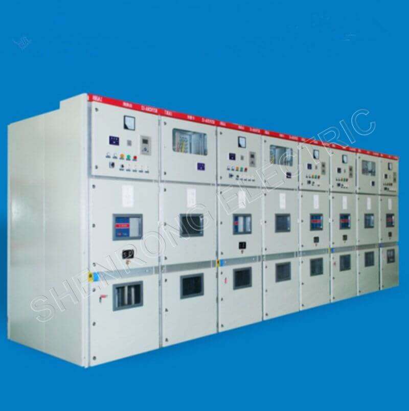 KYN28A-12 Model Intermediate Armored Metal Sealed High Voltage Switchgear Cabinet