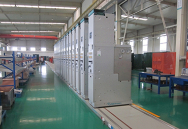 Trolley Model Production Line of Ring Main Unit Switchgear