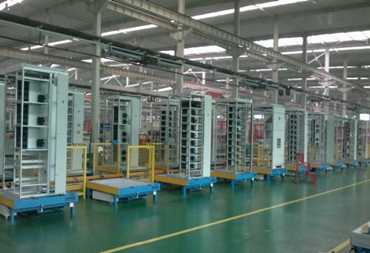 Automatic assembling production line of Low Voltage Withdrawable switchgear