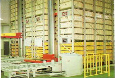 Automatic storing system