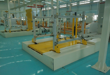 Assembling and production line of High and Low voltage switchgear
