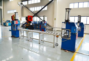 Production line of busbar